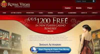 A Preview of the Royal Vegas Website